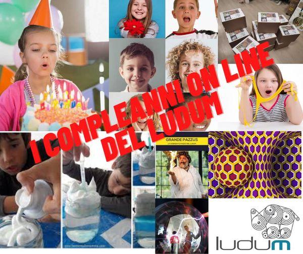 Compleanno on line al Ludum